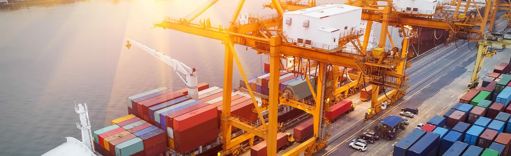 Krananlage Containerhafen